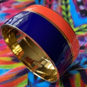J. Crew Enamel Bangle Bracelets {Set of 2}